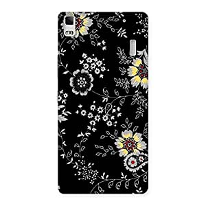 Ajay Enterprise Rel Classic Flower Back Case Cover for Lenovo A7000