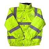 Haute visibilité pour enfant Hi Veste Bomber haute visibilité Manteau de sécurité toutes les couleurs et tailles -  Jaune - S