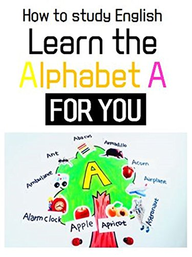 Learn A's words l How to study Alphabet about A with stickers !! l A TREE For Kids