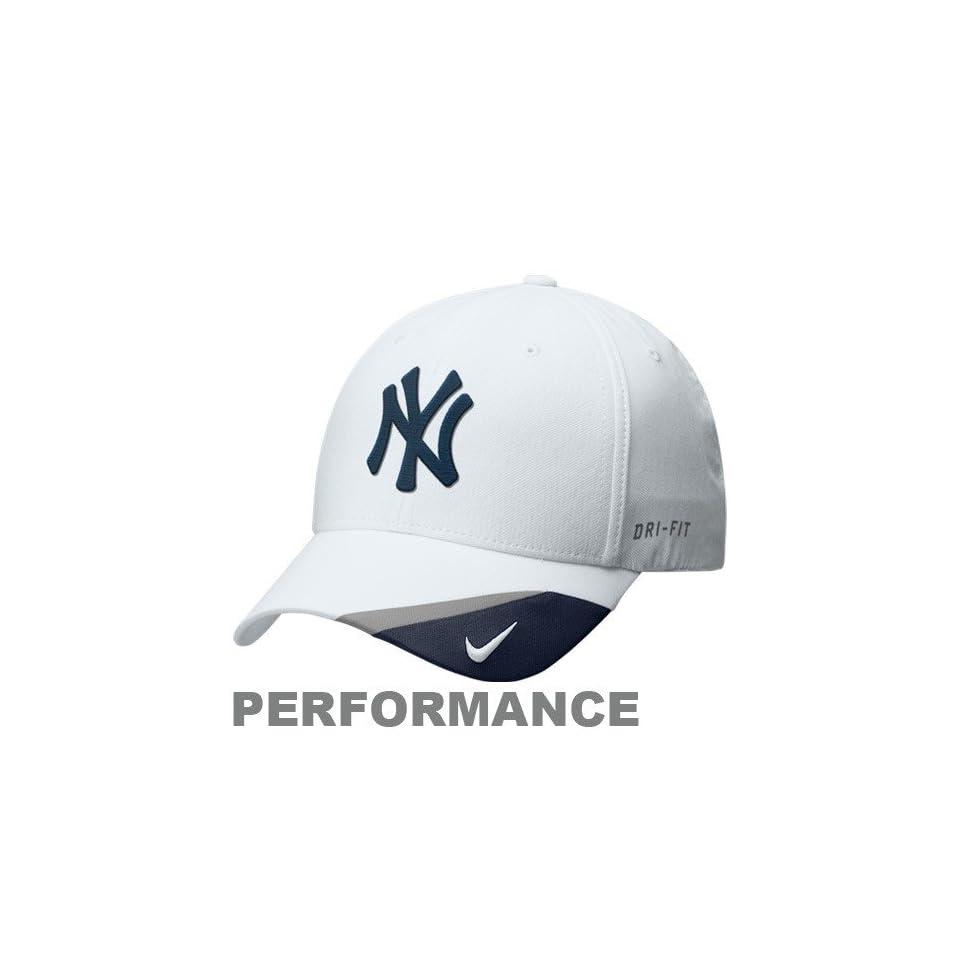 da5343cbd3476 Nike New York Yankees White Dri FIT Bright Light Adjustable on PopScreen