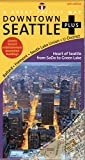 img - for Seattle Map (Seattle Downtown Plus Road, Recreation & Transit Map, 13th Edition) book / textbook / text book