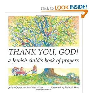 Thank You, God!: A Jewish Child's Book of Prayers (Shabbat)