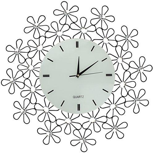 Lulu Decor Black Drop Wall Clock : Clocks