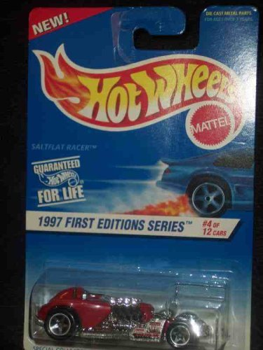 1997 First Editions #4 Salt Flat Racer Malaysia #520 Condition Mattel Hot Wheels - 1