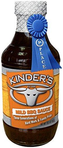 Kinder's Organic Mild BBQ Sauce, 30-Ounce Bottle / 850 Grams (Kinder Organic Bbq Sauce compare prices)