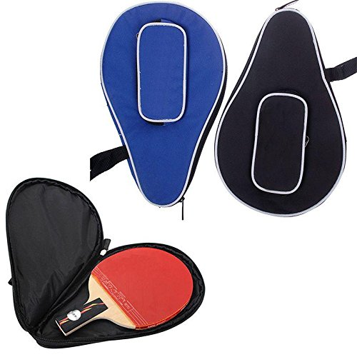 Waterproof Nylon Table Tennis Racket Bag PingPong Paddle Bat Storage Case Box Zipper #01 (Table Tennis Paddle Cover compare prices)