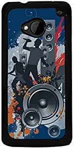 Printvisa 2D-HTCM7-D7872 Mobile Case Cover for HTC One M7