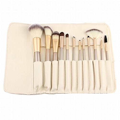 anne-12-pcs-makeup-brush-set-professional-wood-handle-premium-synthetic-kabuki-foundation-blending-b