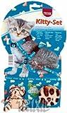 Trixie juego de gato de Arnés y Plomo nailon Patterned