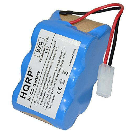 HQRP 7.2V Battery for Euro-Pro Shark V1945Z XB1945W XB1946W 2-Speed Cordless Sweeper #XB1946W XB1946 V1945 + Coaster (Euro Pro Battery Xb1945w compare prices)