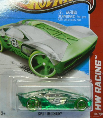 Hot Wheels HW Racing 134/250 Green Split Decision
