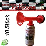 10 St�ck Fanfare Druckluftfanfare Gas...