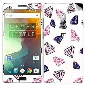 Theskinmantra Diamonds OnePlus Two mobile skin