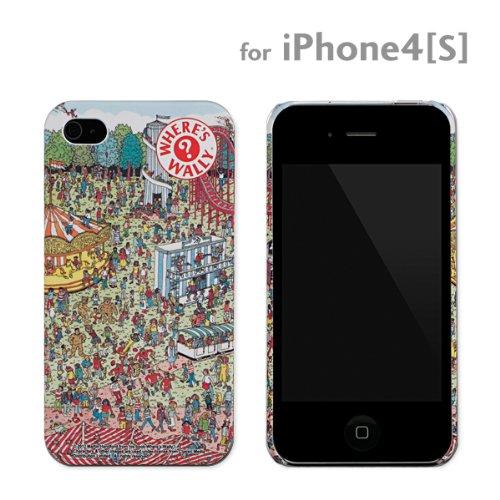 [SoftBank/au iPhone4S/4専用]ハードケース(ウォーリーを探せ/ユウエンチ)