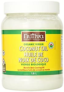 Nutiva Organic Virgin Coconut Oil, 54-Ounce Containers (Pack of 2)