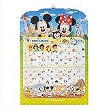 ディズニー 2016年壁掛けカレンダー ペン付き ミッキーマウス ミニーマウス【東京ディズニーリゾート限定】