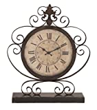 Deco 79 Metal Clock, 23 by 19-Inch