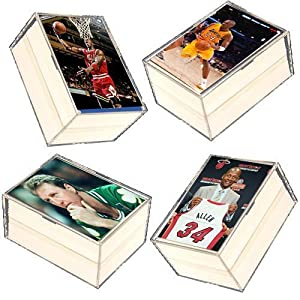 400 Card NBA Basketball Gift Set - w/ Superstars, Hall of Fame Players