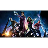 Akhuratha Designs Movie Guardians Of The Galaxy Star Lord Gamora Chris Pratt Peter Quill Drax The Destroyer Groot Dave Bautista Zoe Saldana Rocket Raccoon HD Wall Poster