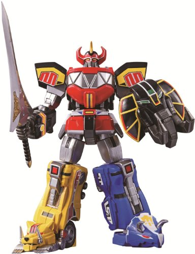 Bandai Tamashii Nations Super Robot Chogokin Megazord Mighty Morphin Power Rangers (Robot Tamashii Extreme compare prices)