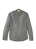 Selected Homme Jeans Camisa Hombre (Verde)