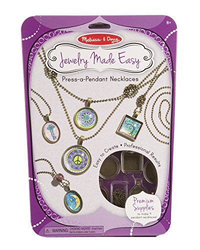 Melissa & Doug Press-a-Pendant Necklaces - 1