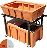 Image of AquaBundance Aquaponics System, Charcoal