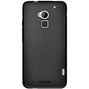 Amzer 96262 Pudding TPU Case - Black for HTC One Max