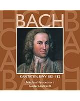 Bach, JS : Sacred Cantatas BWV Nos 180 - 182