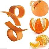 Kabalo Orangenschäler 2er Set - Finger gehaltene Grapefruit Zitrone Orangenschäler