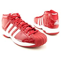 ADIDAS Pro Model 2G Basketball Shoes Red Mens SZ Review a