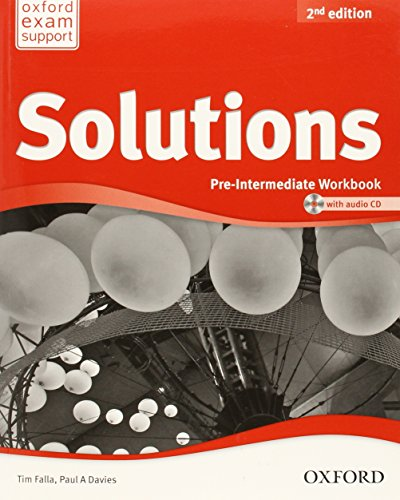 Solutions. Pre-intermediate. Workbook and Audio cd Pack (Miscellaneous)