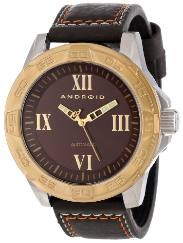 Android Men'S Ad667Bgbn  Exodus Analog Automatic-Self-Wind Brown Watch