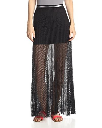SILVA Women's Mesh Maxi Skirt