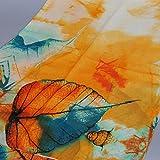 Shawl, New Lady Long Soft Wrap Silk Chiffon Scarf Scarves (Orange)