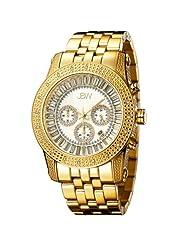"JBW-Just Bling Men's JB-6219-F ""Krypton"" Gold Chronograph Diamond Watch"
