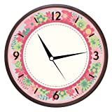 Wall Clocks - Printland Colorful Wall Clock