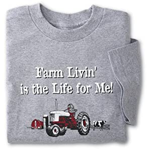 Farm Livin Green Acres Theme Song T-Shirt from Collections Etc