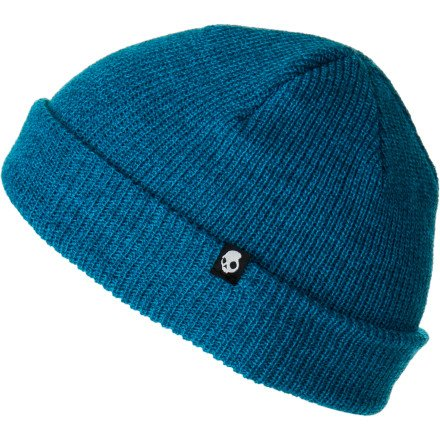 Skullcandy Skulldaylong Heather Beanie Cyan, One Size