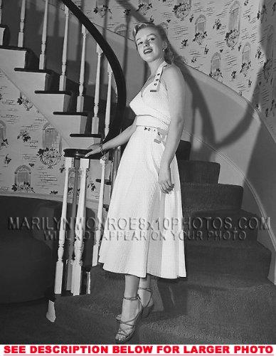 MARILYN MONROE STAIR CASE BEAUTY (1) RARE 8x10 FINE ART PHOTO
