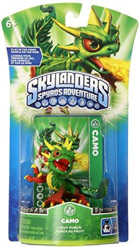 Camo Skylanders Spyro/'s Adventures WiiU XBOX PS3 Universal Character Figure