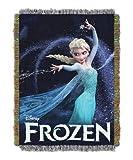 Frozen Elsa Queen of Ice Woven Tapestry Throw