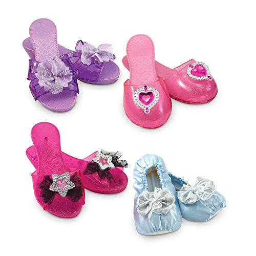 Melissa & Doug Role Dress-Up Shoes