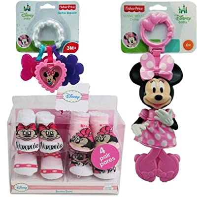 3-piece Disney Minnie Mouse Baby Gift Set