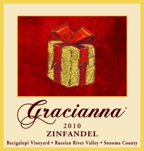 2010 Gracianna Bacigalupi Vineyard Russian River Valley Sonoma County Zinfandel 750 Ml