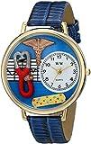 Whimsical Watches Unisex G0620059 Nurse 2 Analog Display Japanese Quartz Royal Blue Watch