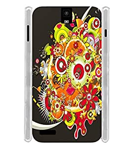 GADGET LOOKS PRINTED BACK COVER FOR Infocus M330 MULTICOLOUR