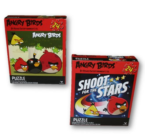 Angry Birds by Rovio Entertainment Angry Birds 2-Pack Puzzles - 24 Pieces Each at Sears.com