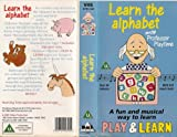 Learn The Alphabet With Professor Playtime [VHS]