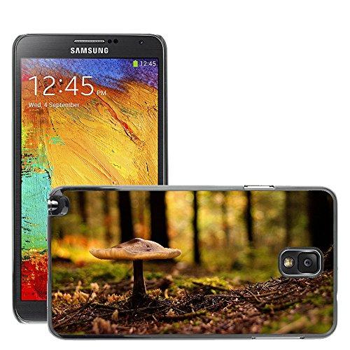 Schwarz Hart Schutz Schale Case // M00050000 aero macro forest mushroom // Samsung Galaxy NOTE 3